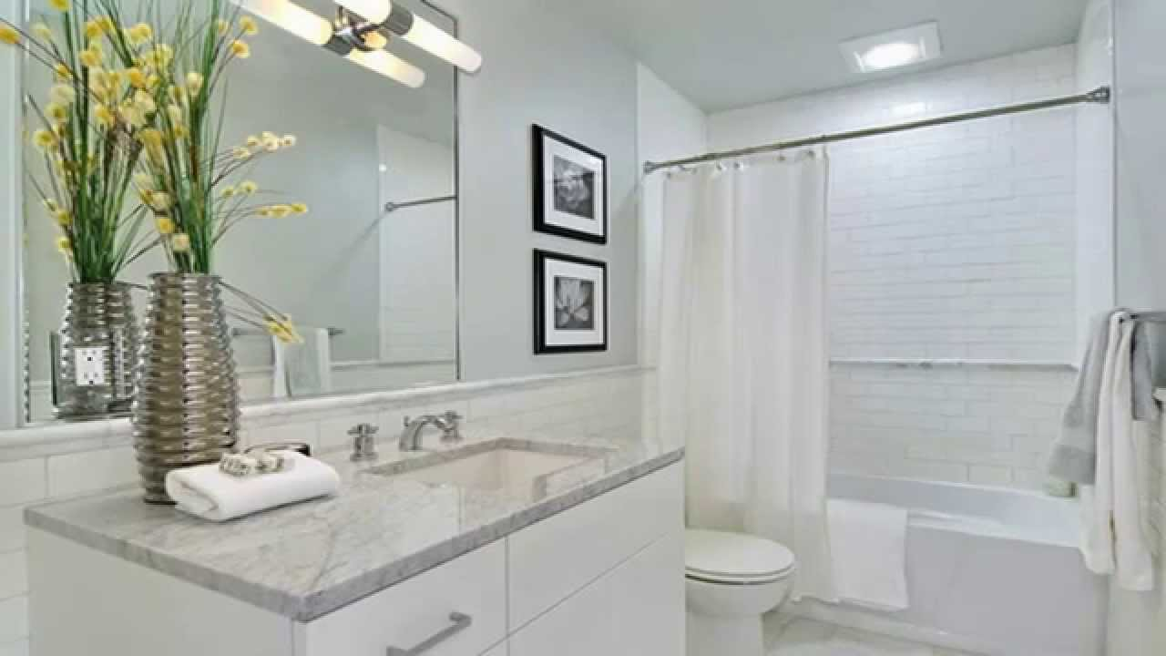 Top WHITE Bathroom remodeling ideas you never imagine - YouTube
