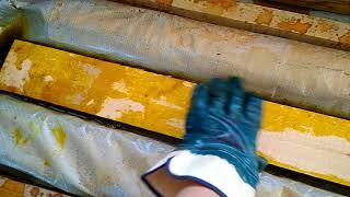 Как легко и быстро обработать доски био защитой.