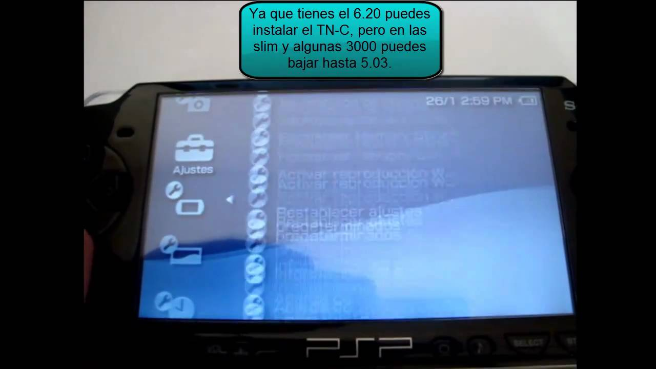 downgrade psp 6.31