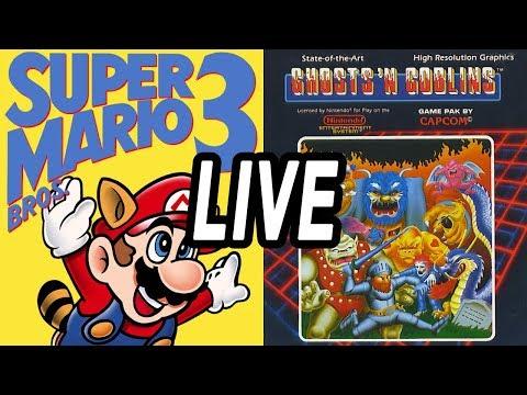 Super Mario Bros 3 & Ghosts 'n Goblins - LIVE