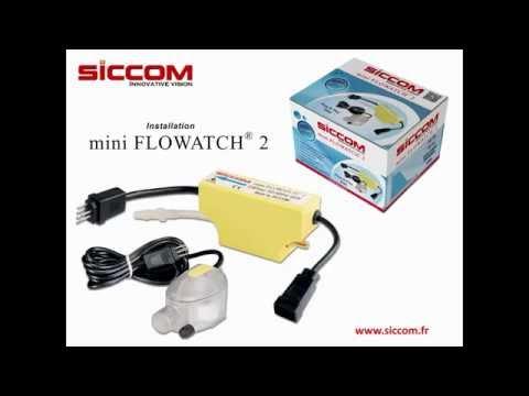 INSTALLATION Mini FLOWATCH 2 - SICCOM
