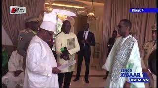 YOUSSOU NDOUR élevé au rang de commandeur de l' odre national du mali par le Président IBK