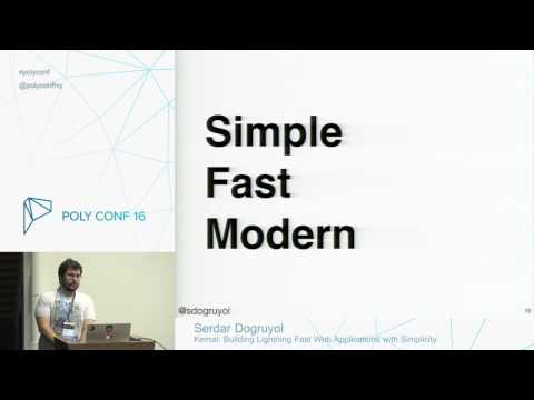 Kemal - Building Lightning Fast Web Applications with Simplicity