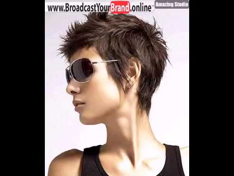 Short Spiky Pixie Haircut Style