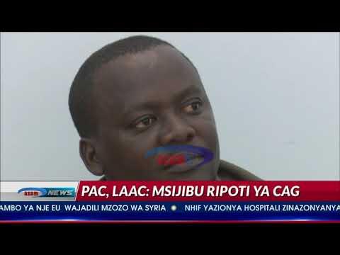 PAC na LAAC zakosoa mawaziri kuijibu ripoti ya CAG