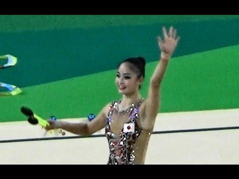 2016 Rio Olympic 皆川夏穂 Kaho Minagawa JPN CLUBS Rhythmic gymnastics Individual All-Around