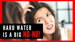 Consequences of Hard Water on Hair