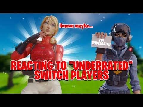 Reacting To Switch PLAYERS! Part 2 (Fortnite Nintendo Switch)