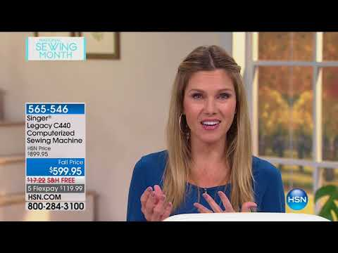 HSN | Sewing Solutions featuring Singer 09.06.2017 - 09 AM