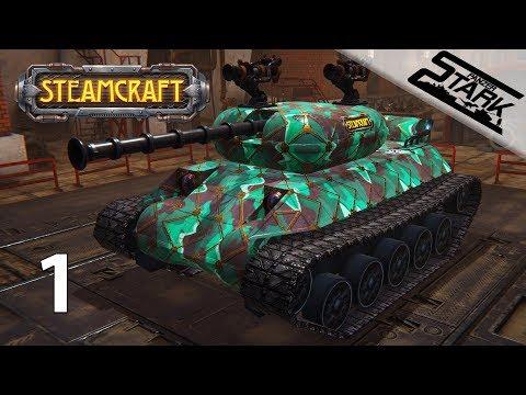SteamCraft - 1.Rész (Csatározás kreatív járművekkel) - Stark