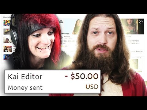 I GAVE MY EDITOR $50 TO SPEND ON FIVERR