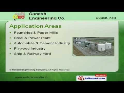 Material Handling Crane by Ganesh Engineering Company, Ahmedabad