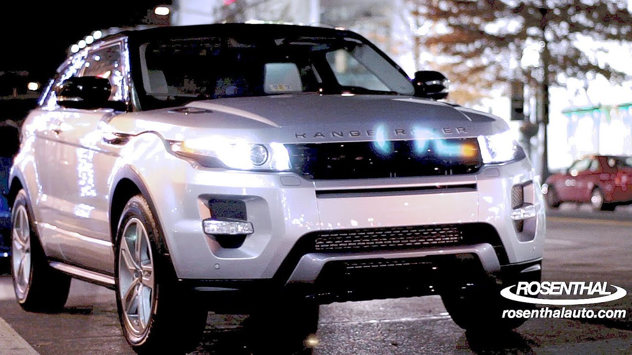 2012 range rover evoque test drive review youtube. Black Bedroom Furniture Sets. Home Design Ideas