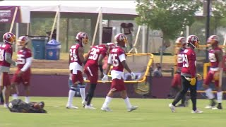 Day 2 of Washington Redskins training camp