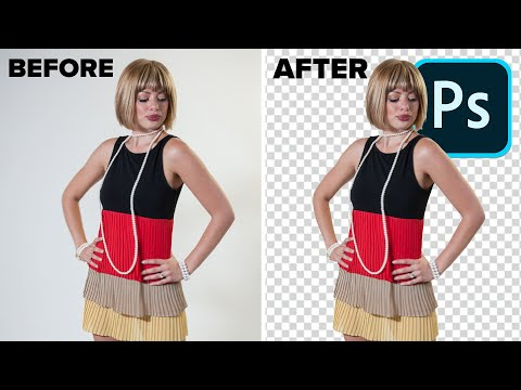 REMOVE BACKGROUND With PERFECT Edges In PHOTOSHOP. Advanced Technique For The Best Results.