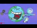 Big Fish Eats Little Max - Animal Short Animated Pencil