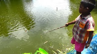 Best Fishing Video | Kids Fishing By Daily Village Life (Part-58)