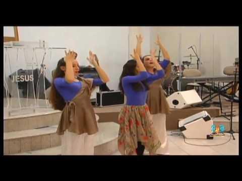 Coreografia Aquieta Minh'Alma (Minist. Zoe) - Grupo Adoração Sem Limites