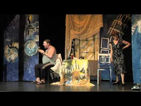 """Theater """"Most""""(""""Brücke"""") Stuttgart mit dem Stück """"Scheidung auf Russische Art"""""""