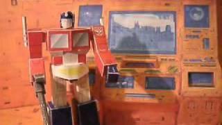 Teletran 1 Papercraft - Transformers G1 Background