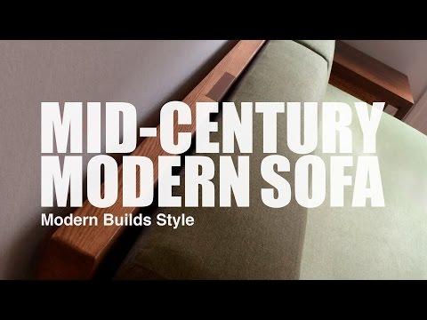 Lars Rønne: MID-CENTURY MODERN SOFA (Modern Builds Style)