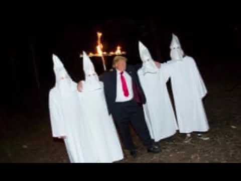 Donald trump joining the KKK ., From YouTubeVideos