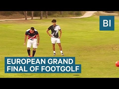 This Is The European Grand Final Of Footgolf