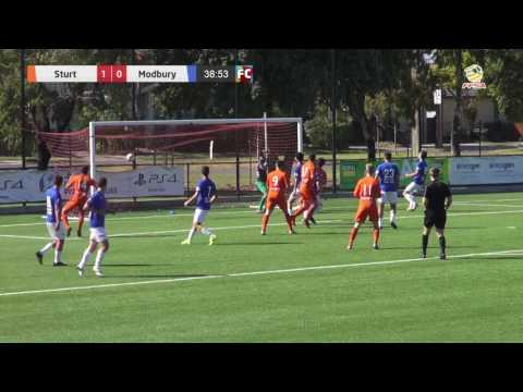 2017 FFSA State 1 Rd 6 - Sturt Lions v Modbury Jets