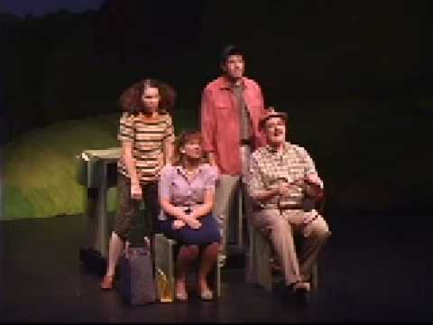 Leaving Iowa- The RV and Tractor  (Laguna Playhouse Fall 2008)