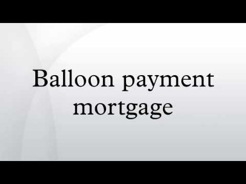 balloon payment mortgage youtube