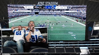 Playing Madden on the Cowboys Jumbotron!