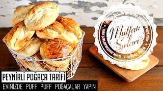 Puf Puf Peynirli Poğaça Tarifi - Mutfak Sırları