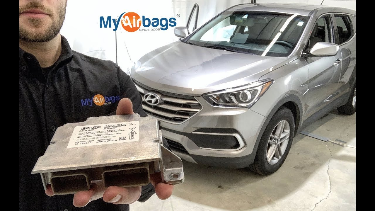 Hyundai SRS Airbag Module ECU Control Unit Crash Data Reset Service