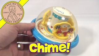 Fisher-price Rolly Polly Chime Ball #1156, 1991