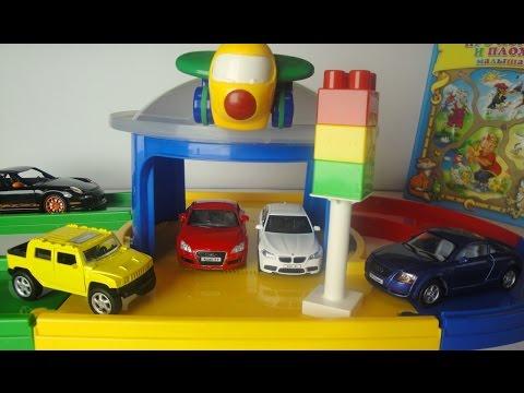 Машины. Ауди, Джип, БМВ, Порш. Зачем нужен светофор