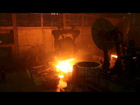 Steel casting factory