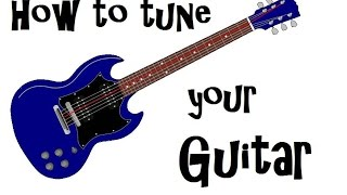 How to Tune a Guitar - Standard Tuning
