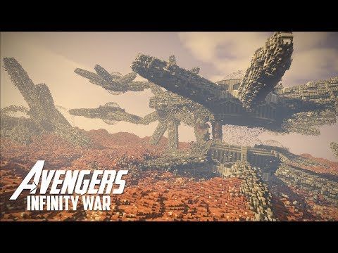 Avengers: Infinity War | Minecraft Timelapse Build - YouTube