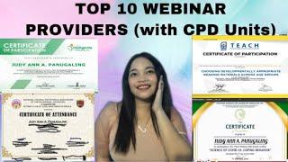 FREE WEBINARS FOR TEACHERS WITH CPD UNITS (TOP 10)2020 Part 2|Judy Ann Panugaling #4