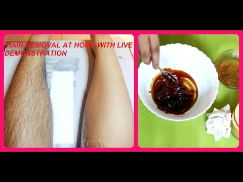 NATURAL HAIR REMOVAL AT HOME WITH LIVE DEMONSTRATION