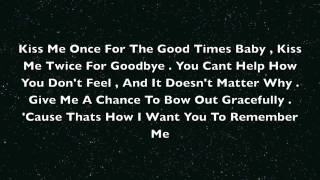 Smile - Lonestar (Lyrics On Screen)