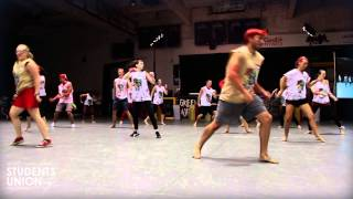 Red Defenders Head-Ice Dance Off | O-Week 2013 | Wilfrid Laurier University | Waterloo Campus