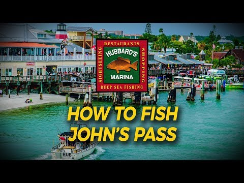 How To Fish Johns Pass From Shore, Lure Tips And Tricks! | Http://www.HubbardsMarina.com