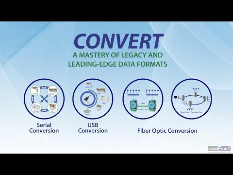 Convert - A Mastery of Legacy and Leading-Edge Data Formats