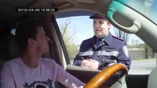 ГАИ Украины опустил россиян.mp4