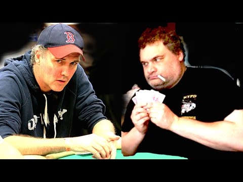 Norm Macdonald & Artie Lange Playing Poker on Some Show
