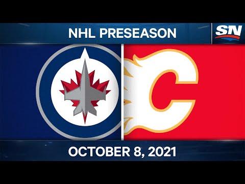 NHL Pre-Season Highlights | Jets vs. Flames - Oct. 8, 2021