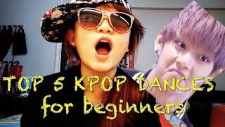 Top 5 Easy Kpop Dances for Beginners [Charissahoo]