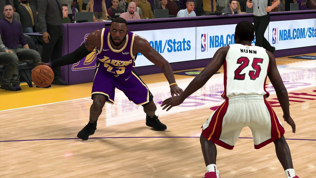 Nba Today 11 8 2019 Los Angeles Lakers Vs Miami Heat Nba 2k20 Ps4