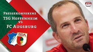 18/19 // Pressekonferenz vor Hoffenheim // Baum & Finnbogason